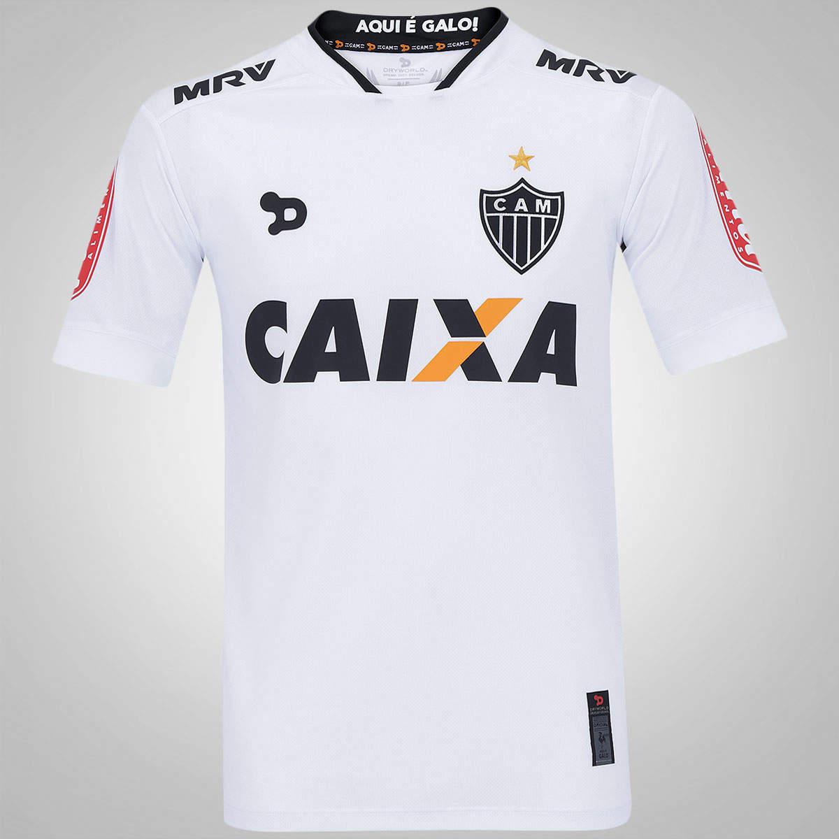 Camisa Atlético Mineiro Dryworld 2016 S/N