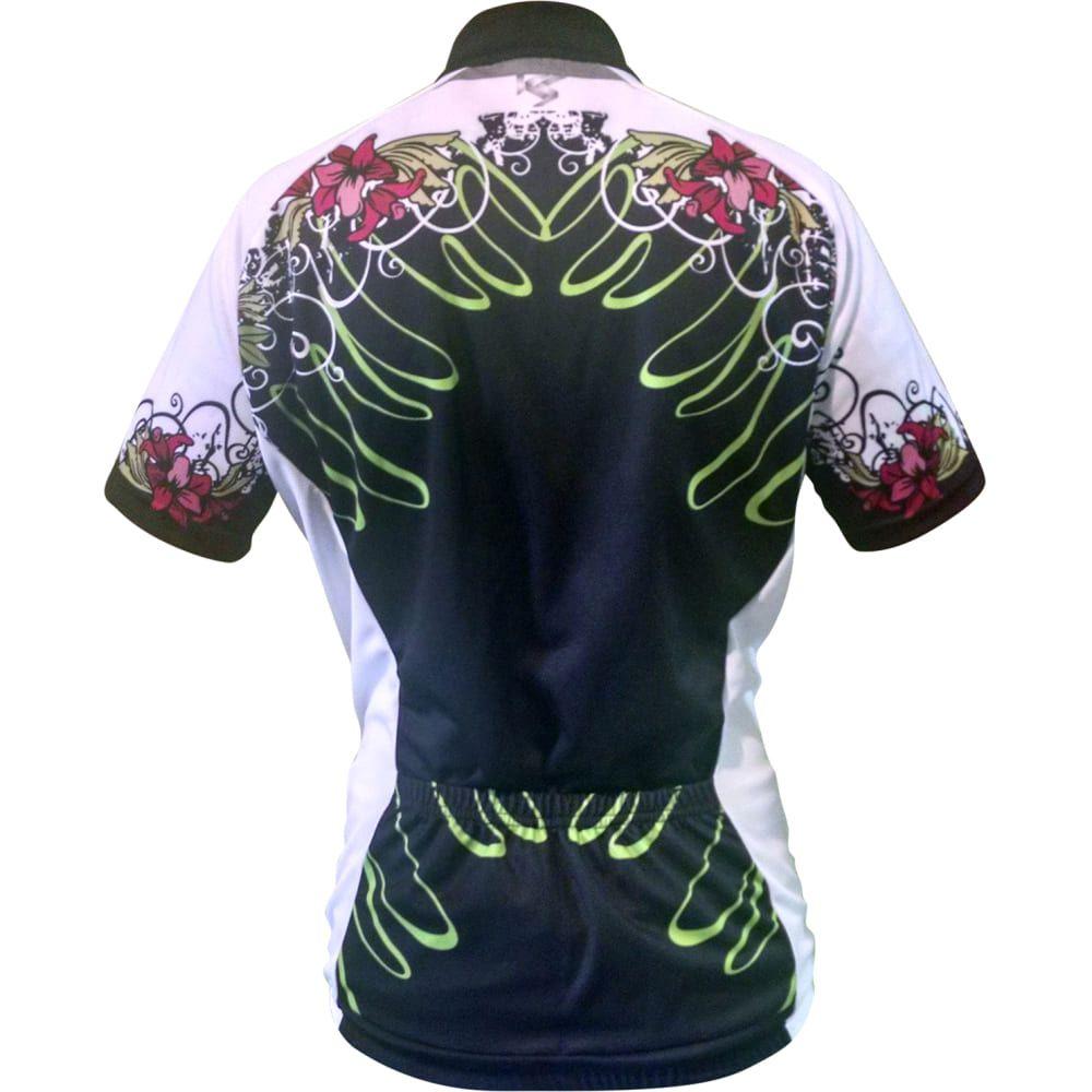 Camisa Ciclismo Bike Kanga Sport Feminino Caribe M2