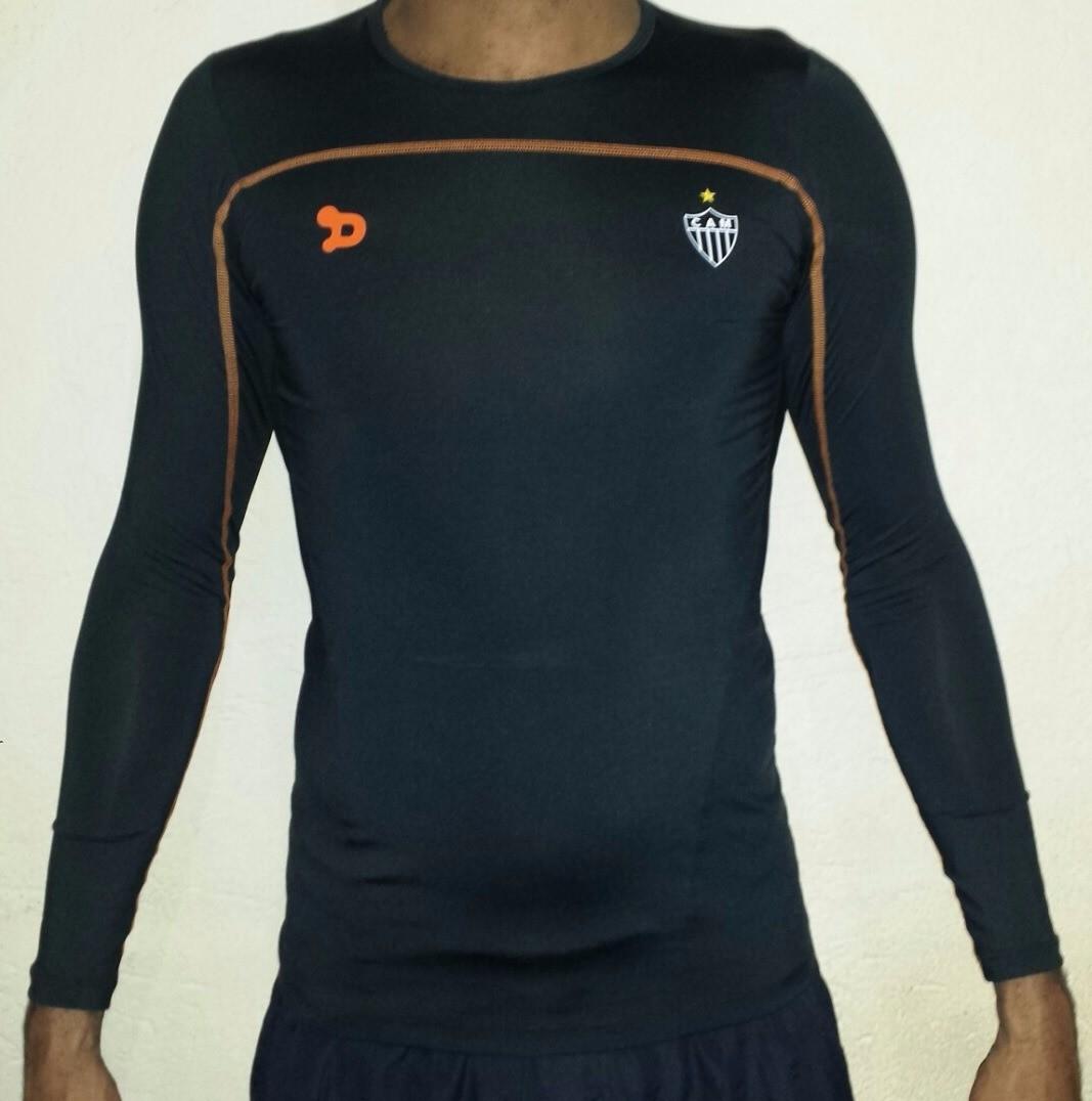 Camisa Compressão Atlético Mineiro 2016 Dryworld Manga Longa ... 2d2d647f0deca