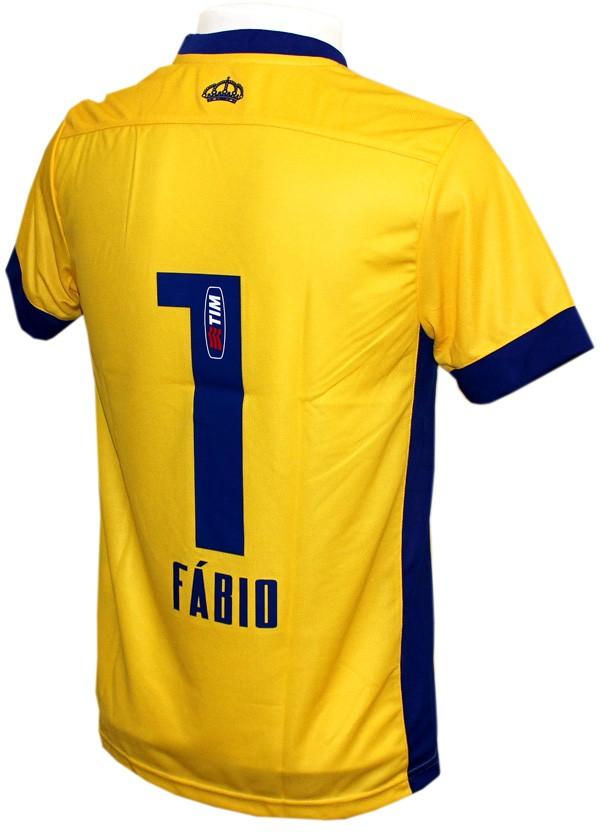 Camisa Cruzeiro 1 Penalty Fábio 2015 Número 1