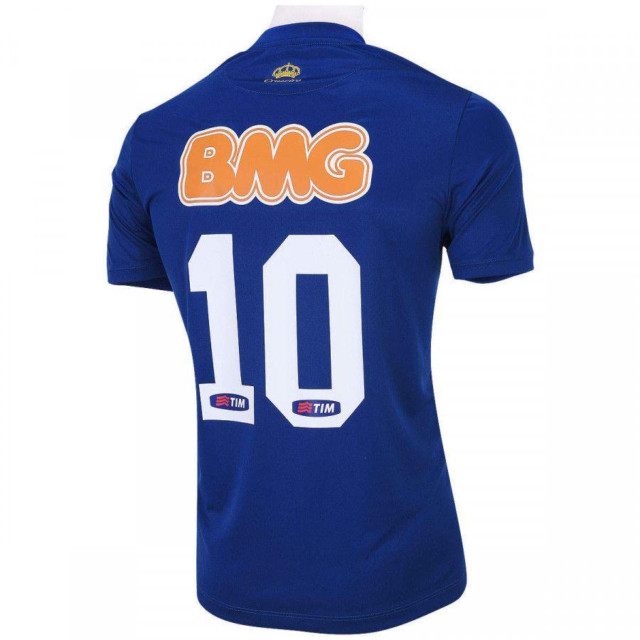 Camisa Cruzeiro Olympikus 1 2014 Nº10