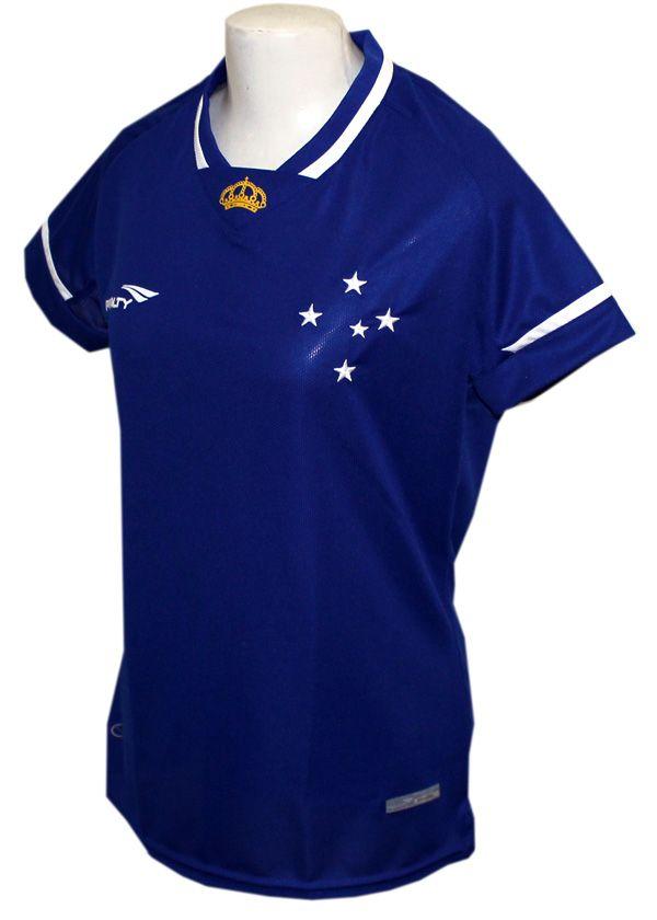 Camisa Cruzeiro Penalty Feminina 2015 Snº Patch Campeão Brasileiro