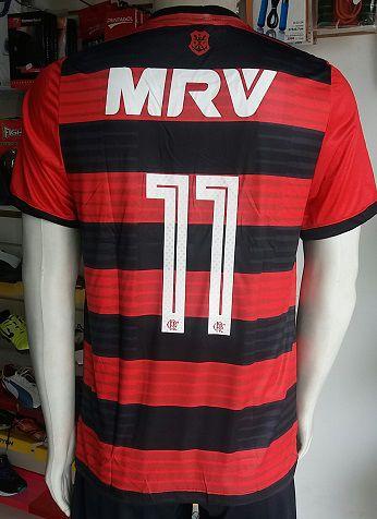 Camisa Flamengo 2018 Nº 11 Paquetá Primeira Linha