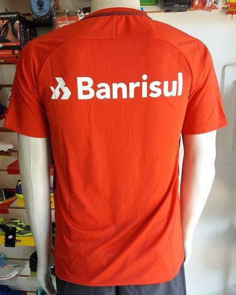 Camisa Internacional 1 2017/2018 S/Nº Autenthic