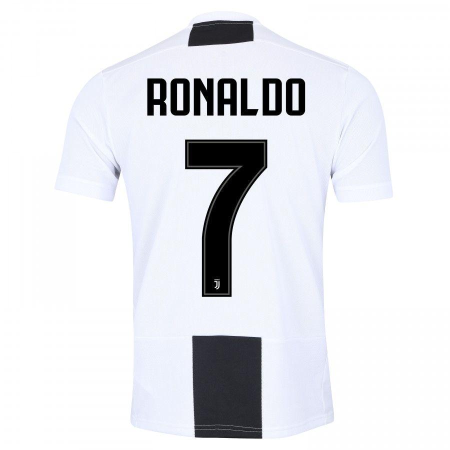 Camisa Juventus 2018 Nº 7 Ronaldo Primeira Linha