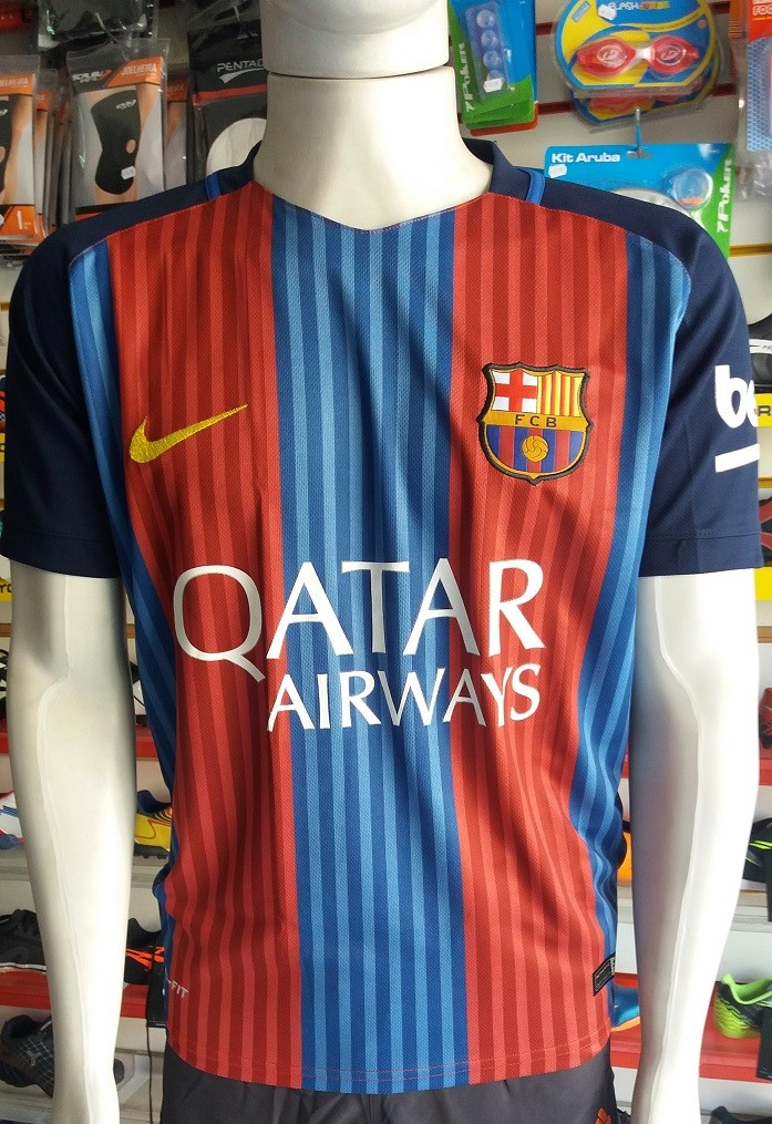 13ab8bd8adf33 Camisa Barcelona 2017 Nº 11 Neymar Primeira Linha - Energia Esportes