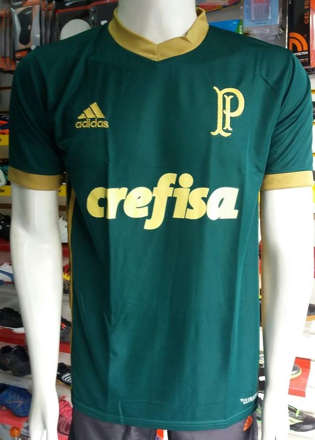 Camisa Palmeiras 3 2017/2018 N°7 Primeira Linha