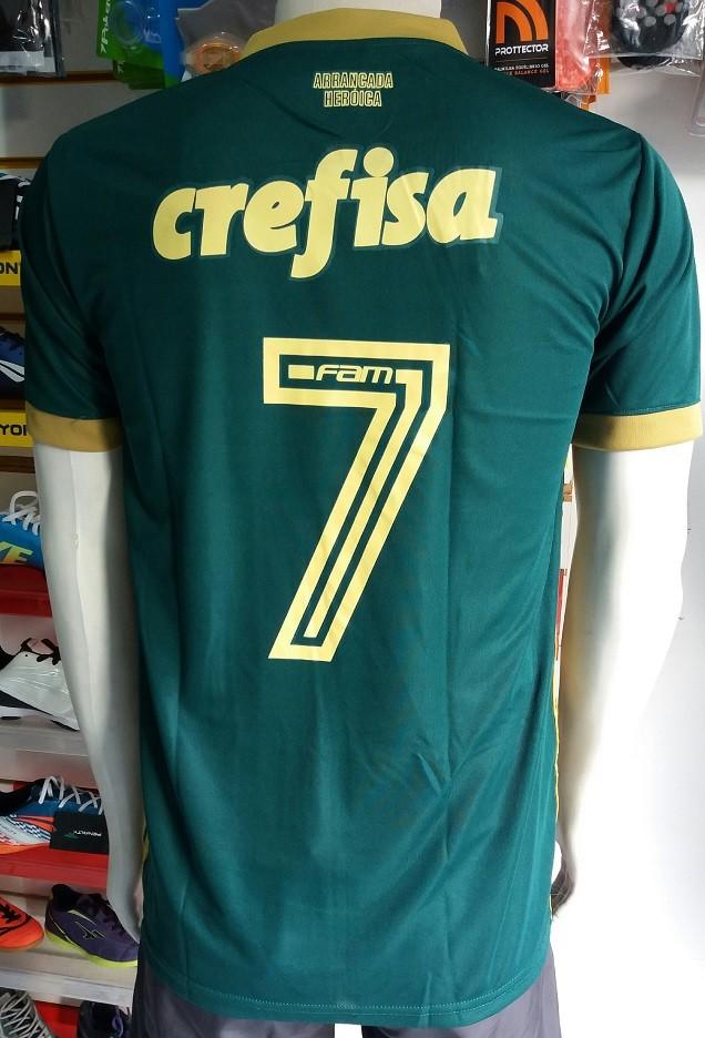 Camisa Palmeiras 3 2017/2018 N°7 Importada