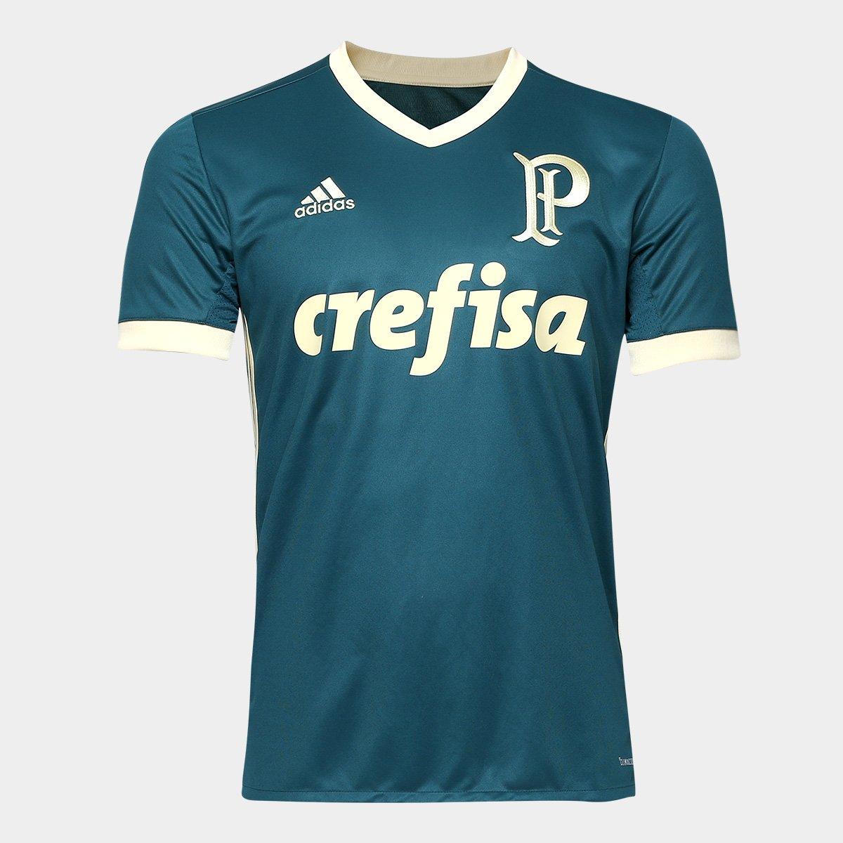 Camisa Palmeiras 3 2017/2018 Nº 9 Primeira Linha