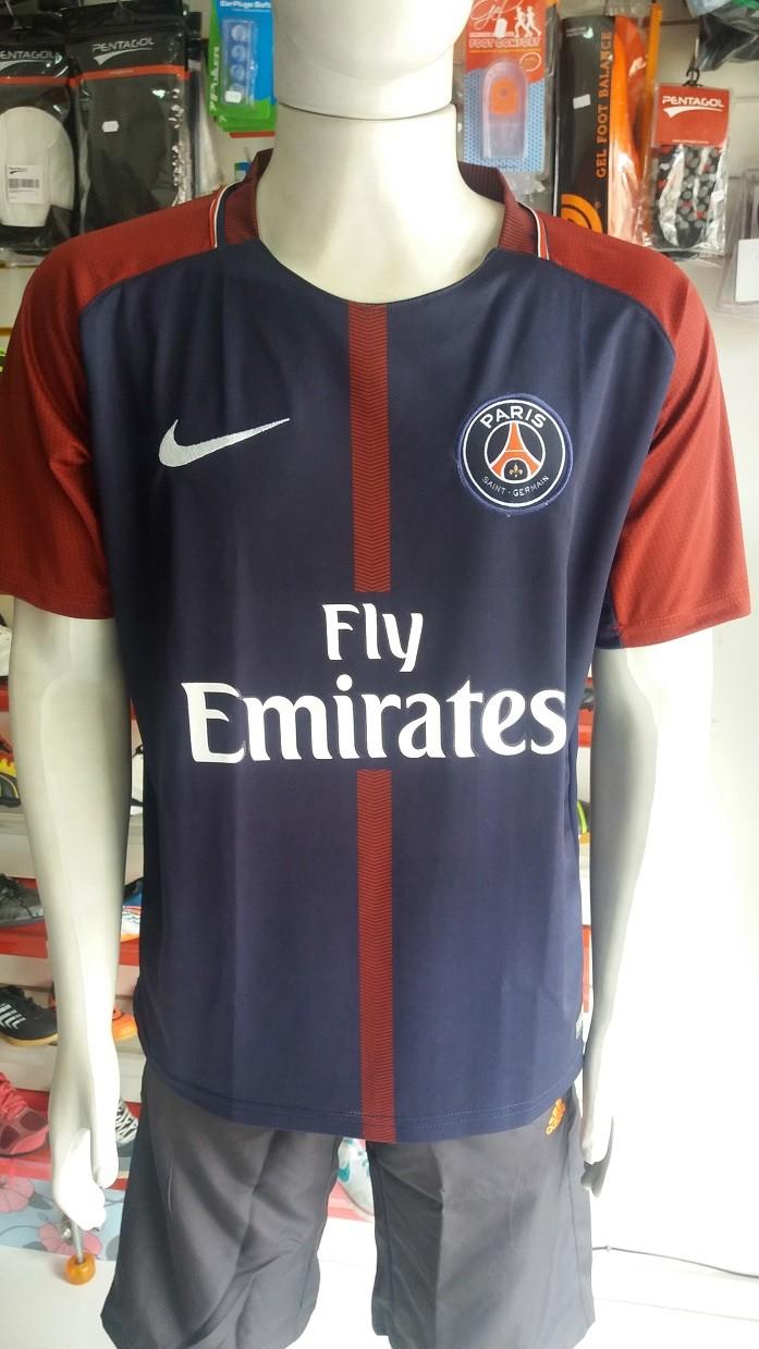 Camisa Paris Saint Germain 2017/2018 Nº 10 Primeira Linha