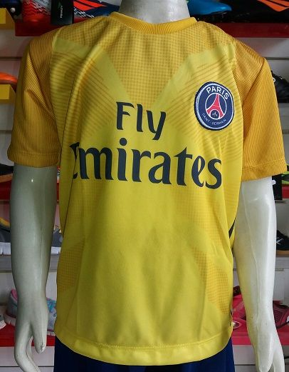 Camisa Paris Saint Germain Infantil 2017/2018 Nº 10 Primeira Linha