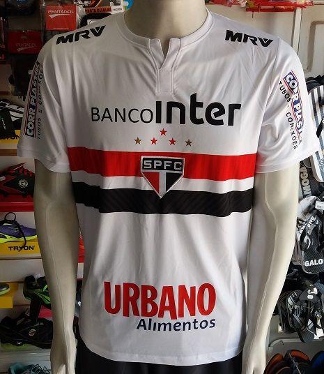 Camisa São Paulo 1 2017/2018 S/Nº Autenthic