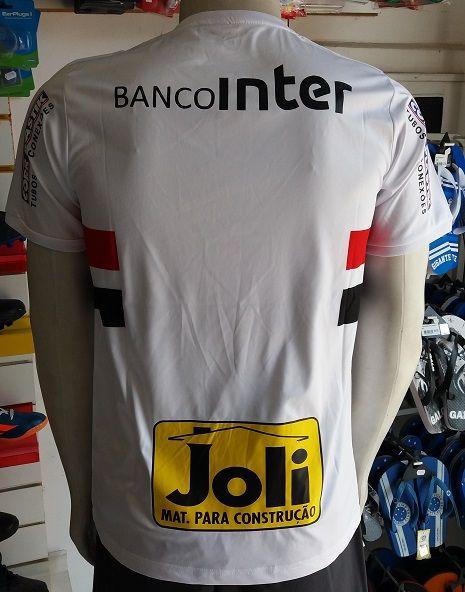 Camisa São Paulo 1 2017/2018 S/Nº Authentic