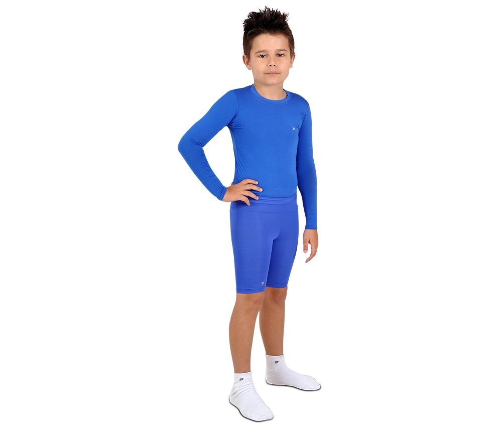 Camisa Térmica Poker Skin Basic Manga Longa Infantil