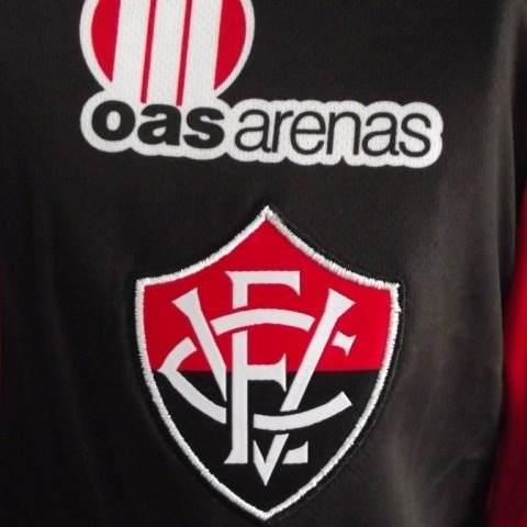 Camisa Vitória 1 Penalty 2013 Patrocinador Caixa