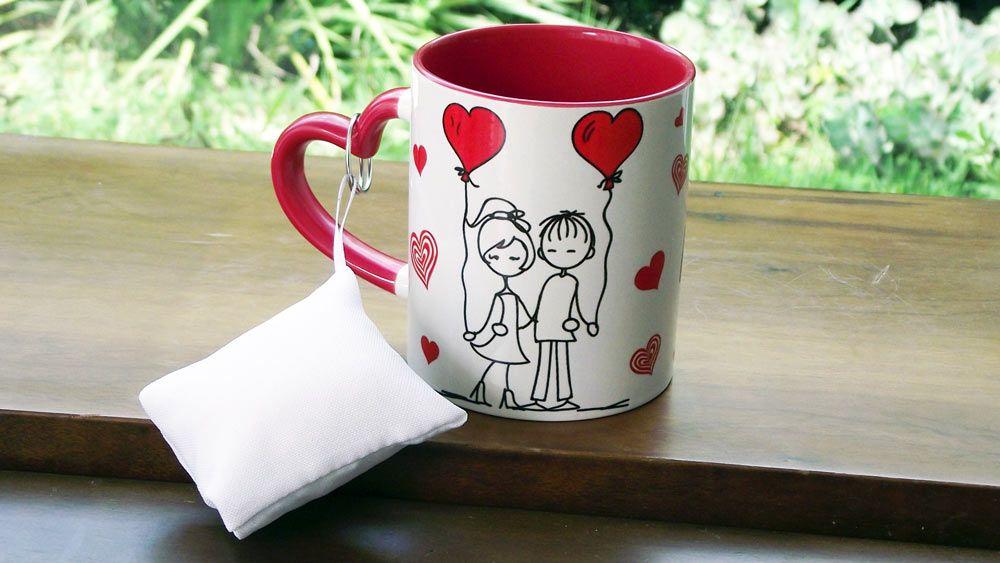 Caneca Dia dos Namorados