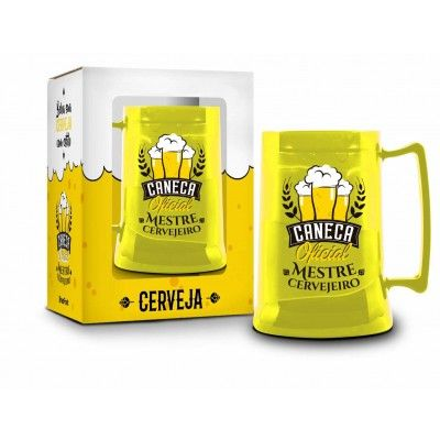 Caneca Gel 300ml Funny - Mestre Cervejeiro