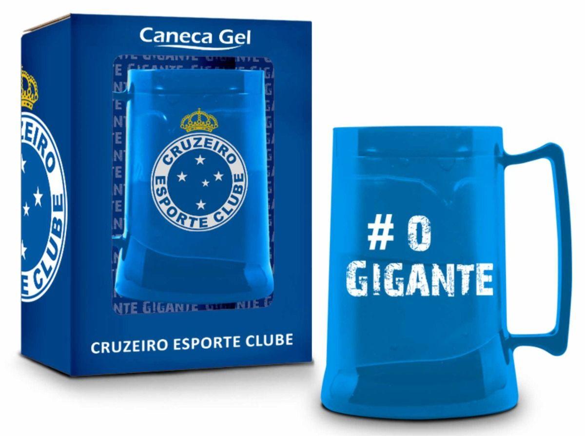 Caneca Gel 300ml Cruzeiro Azul