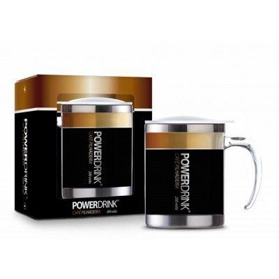 Caneca Plástica Inox Temas Sum - Power Drink