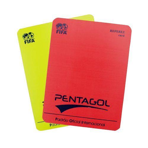 Cartão de Arbitro Campo Pentagol Oficial