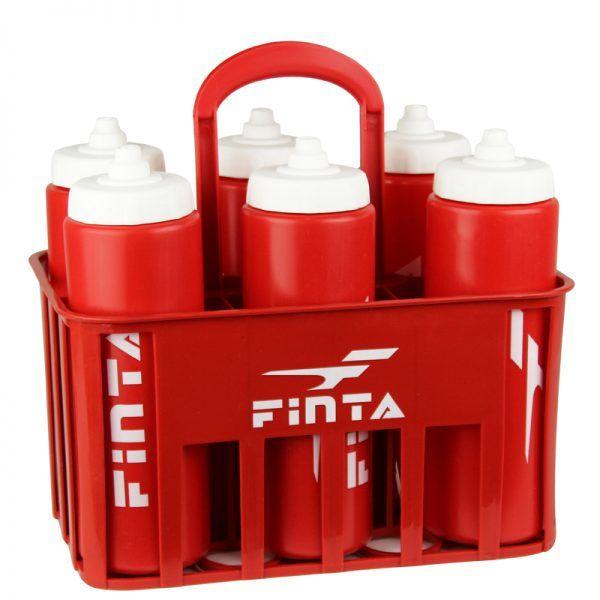 Cesta + 6 Squeeze 1L plástica Finta