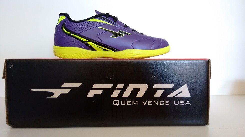 9fc087eb28 Chuteira Futsal Finta Infantil Eternity Pvc - Energia Esportes