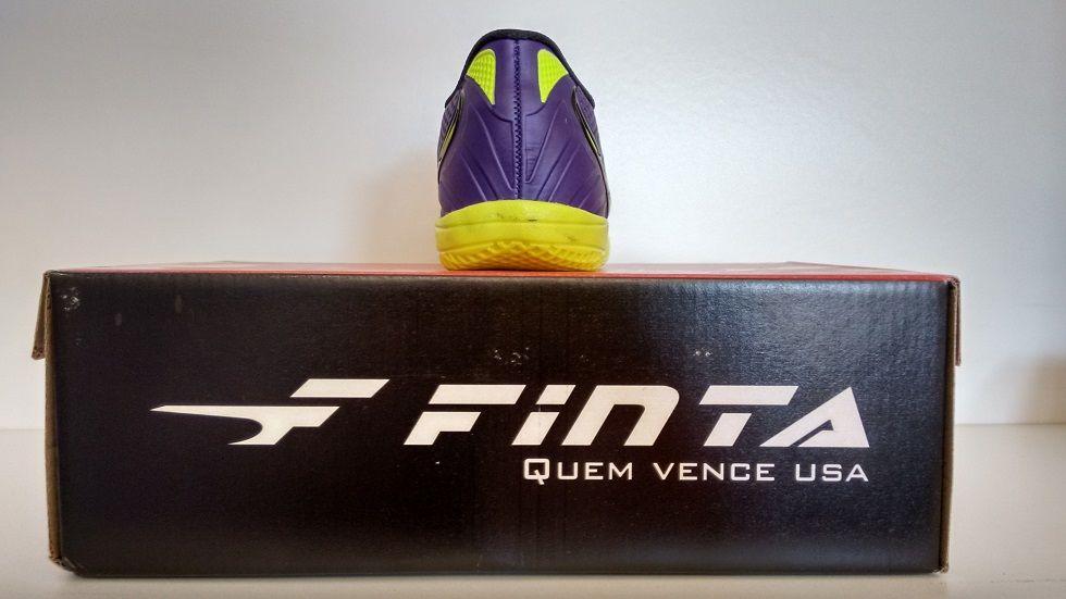 Chuteira Futsal Finta Infantil Eternity Pvc
