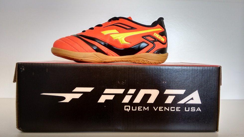 8320c7f845 Chuteira Futsal Finta Infantil Evolution Pvc - Energia Esportes