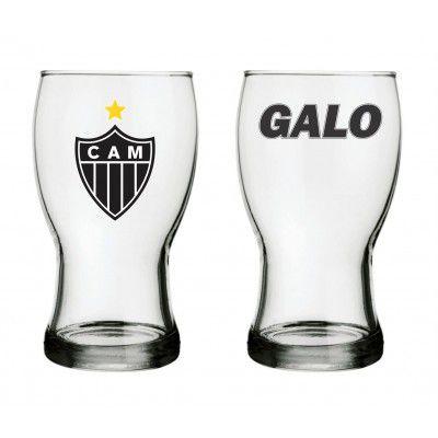 Conjunto 2 Copos Frevo Atlético Mineiro