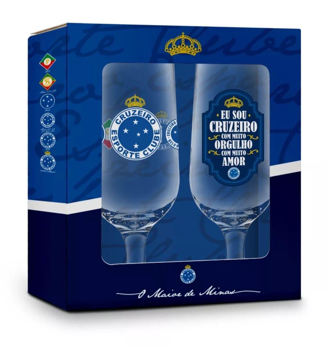 Conjunto 2 Taças Cruzeiro 300ML