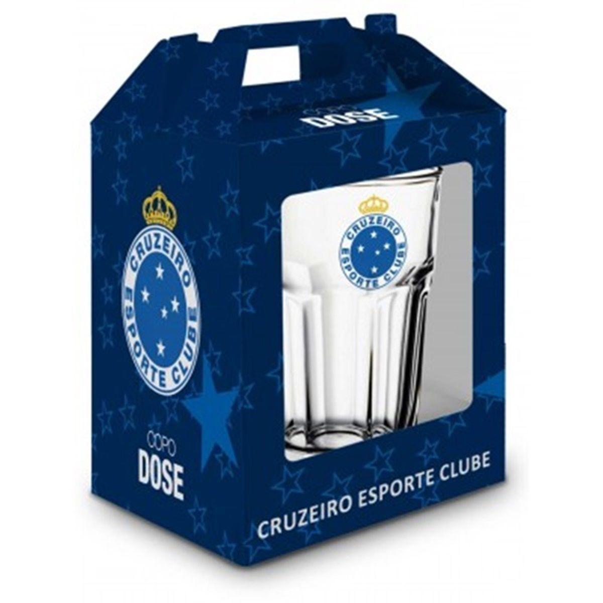 Copo Dose Bristol Emb. Individual - Cruzeiro