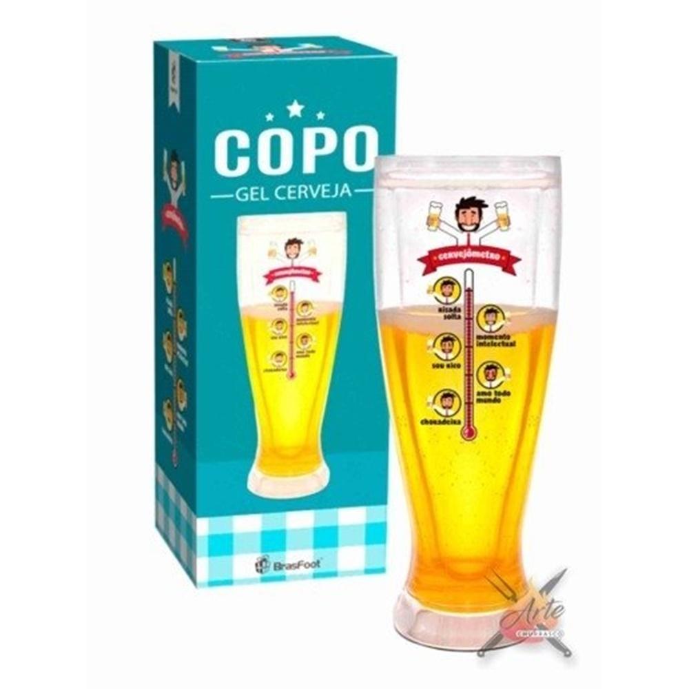 Copo Gel Cerveja Brasfoot - Cervejometro