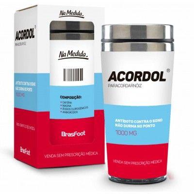 Copo Inox Térmico - Sátiras Remédio - Acordol