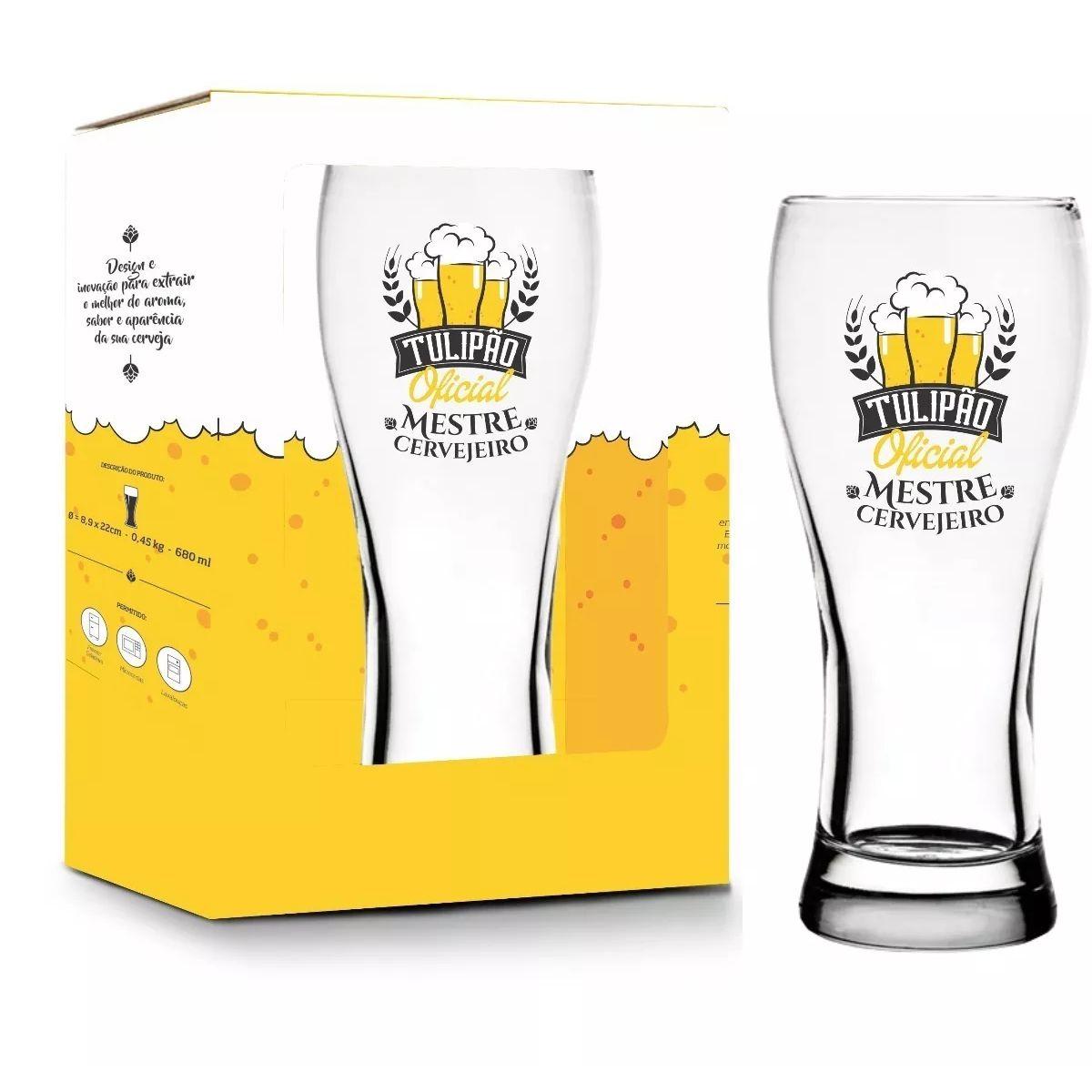 Copo Joinville 680ml - Mestre Cervejeiro