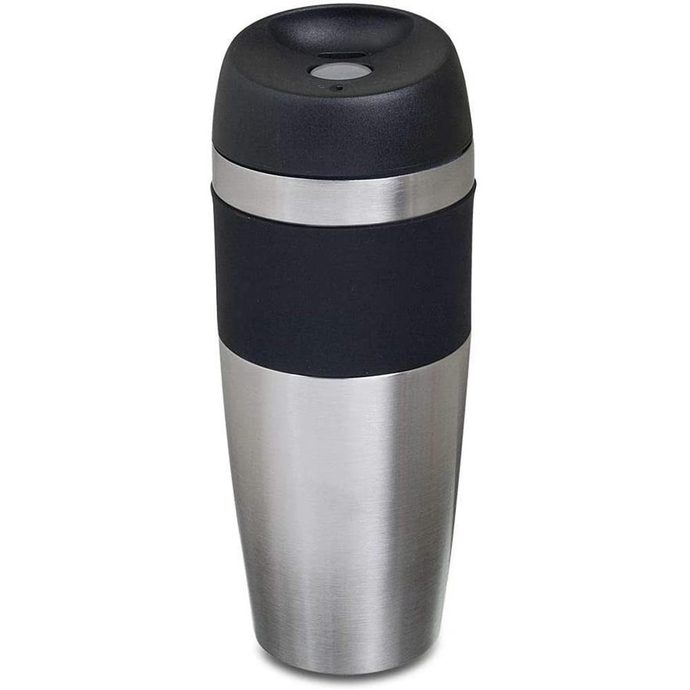 Copo Térmico Mokha Rub Hermético 450ml Aço Inox