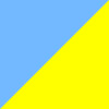 Azul Claro e Amarelo