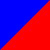 Azul e Vermelho