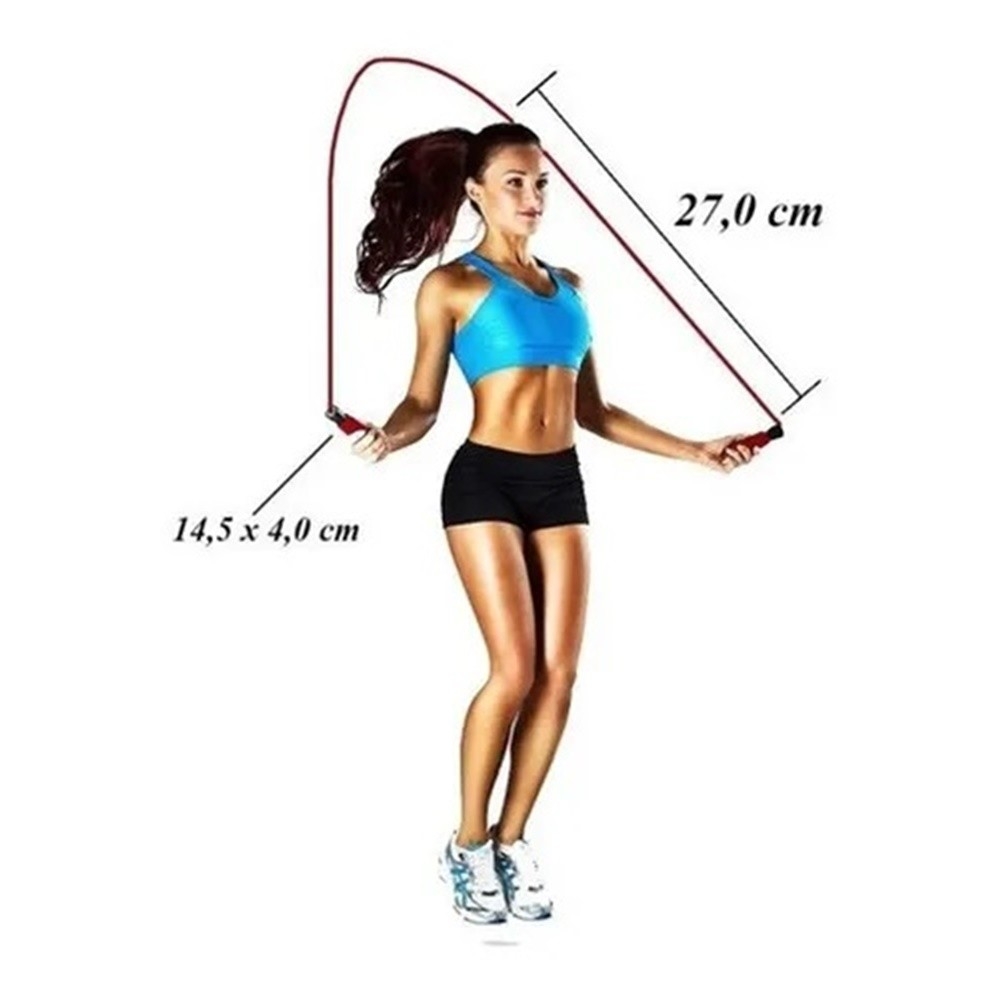 Pula Corda Mbfit Academia Treino Jump Resistência