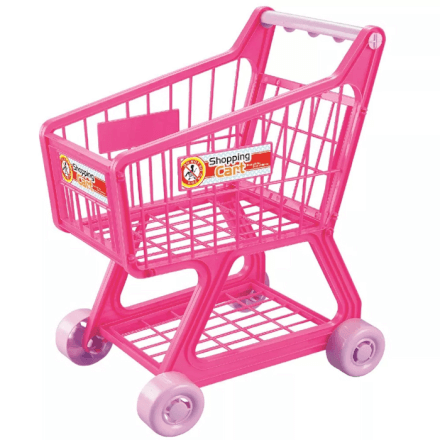 Creative Fun Carrinho Supermercado Rosa Multikids - BR776