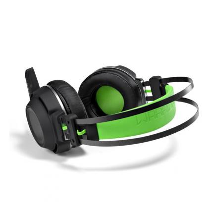 Headset Gamer Preto e Verde Warrior - PH225