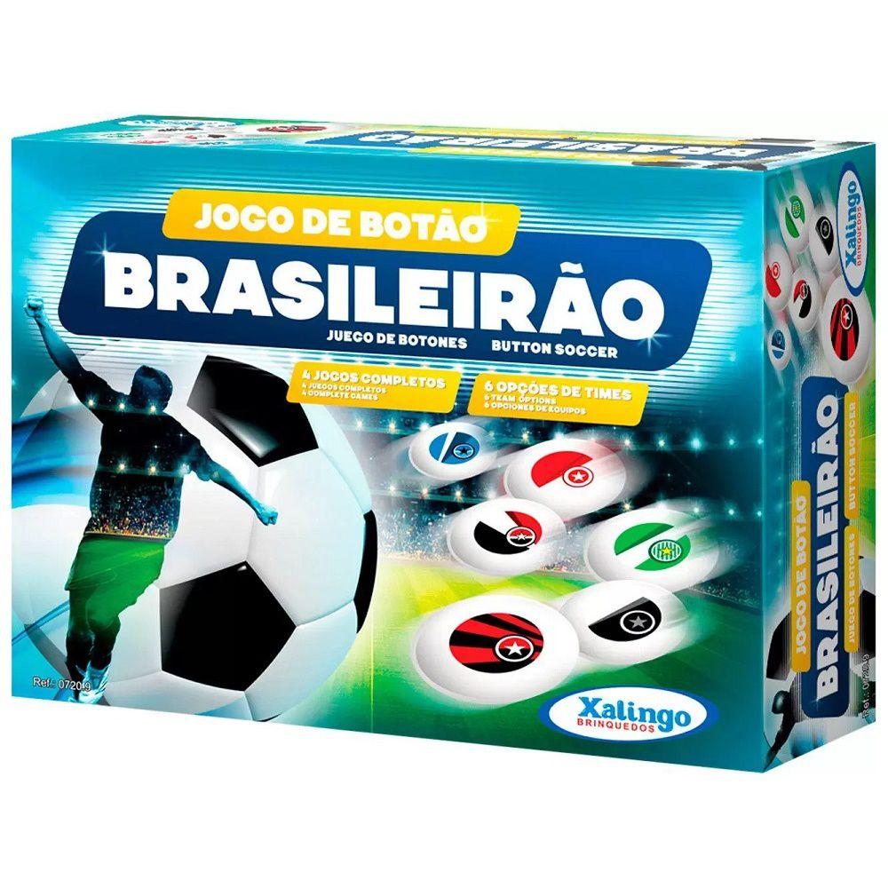 Jogo Futebol de Botão Brasileirão Xalingo