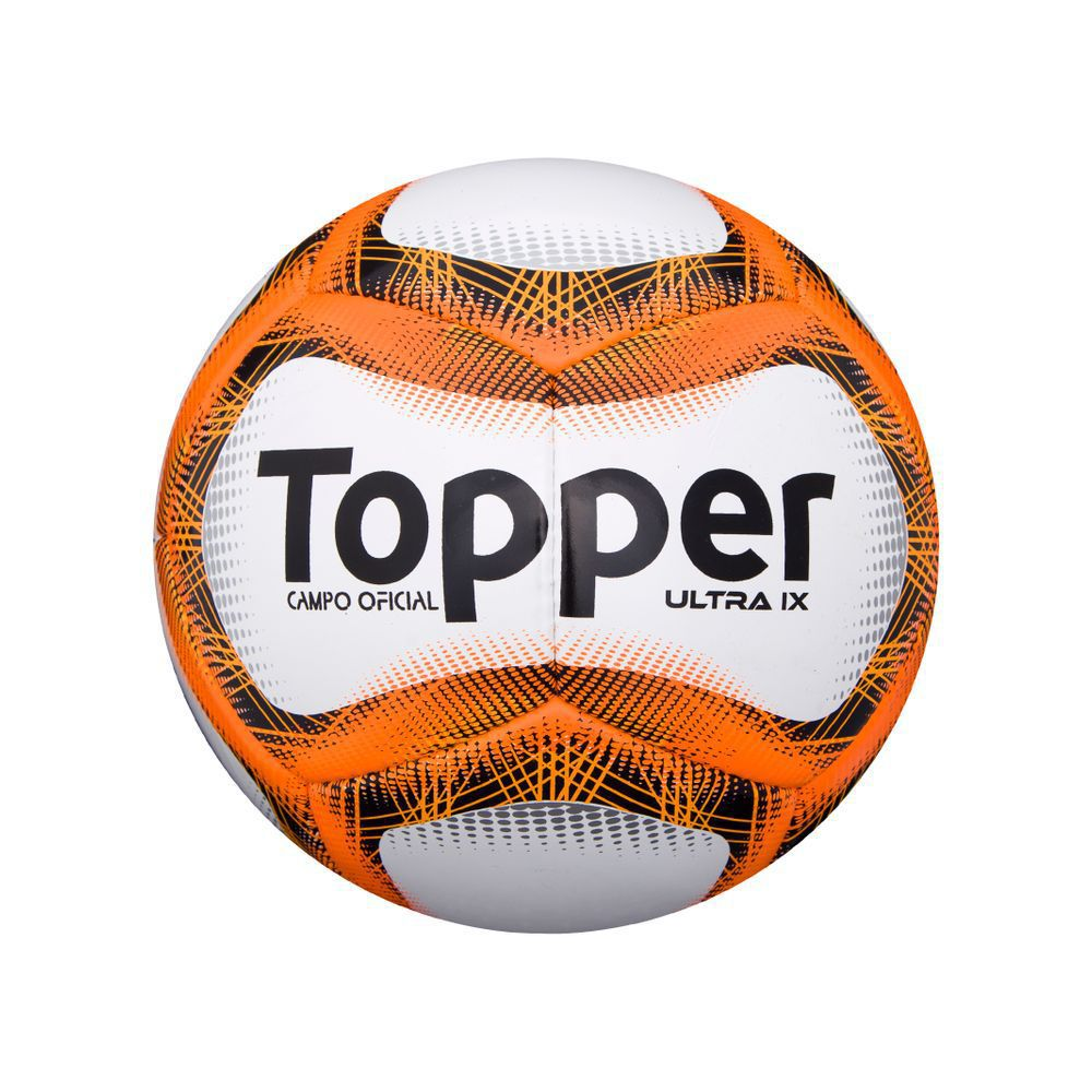 Kit Bola Campo Topper Ultra 9 + Kit Agulha Rosqueável Poker C/3
