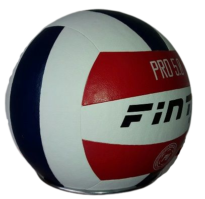 Kit C/3 Bolas de Volei Finta 5.0 P.u Oficial Colada