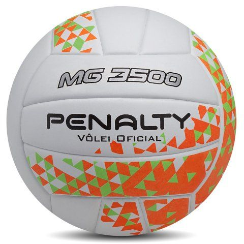 Kit C/3 Bolas de Volei Penalty MG 3500 VIII