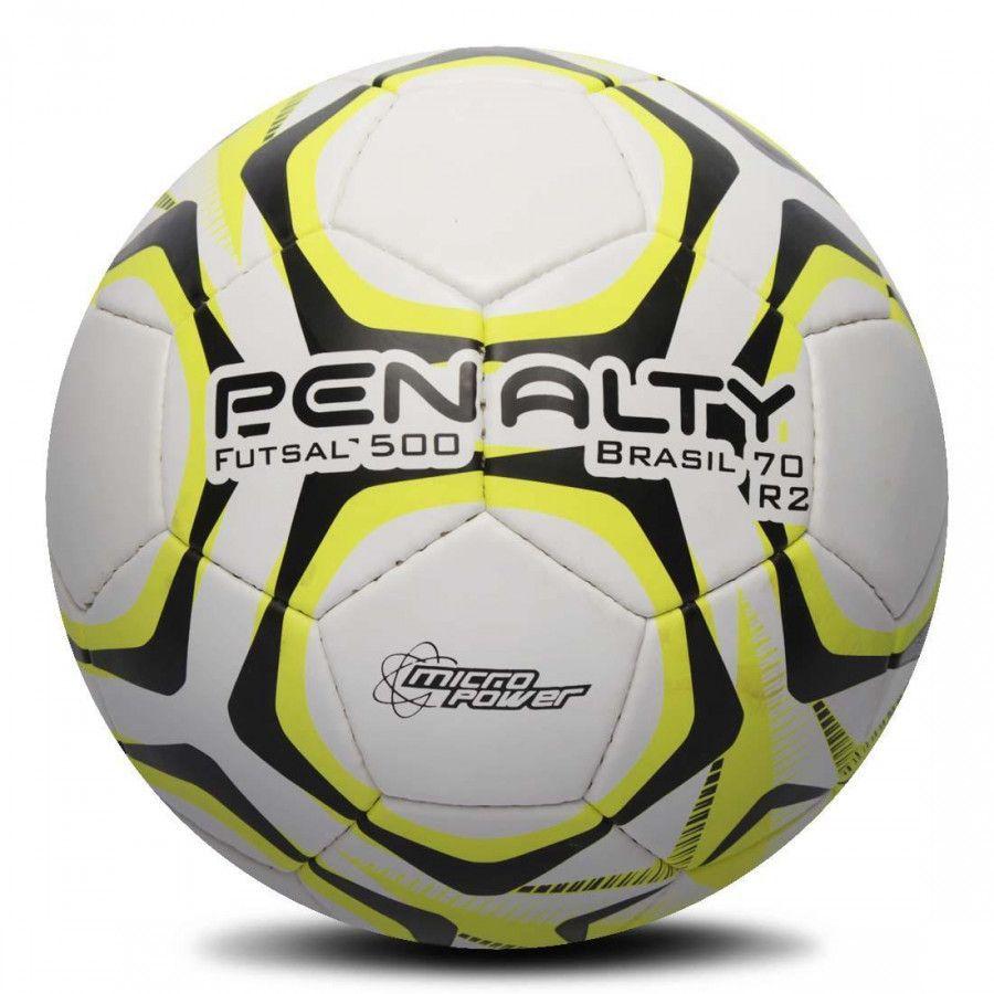 Kit C/3 Bolas Futsal Penalty Brasil 70 500 R2 IX