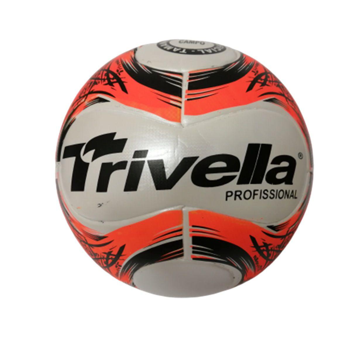 Kit C/ 6 Bolas Campo Trivella 100% PU Profissional