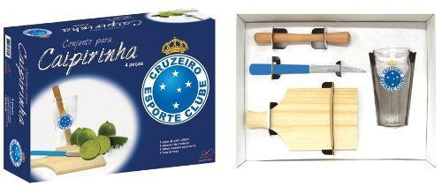 Kit Caipirinha Cruzeiro 4 Peças