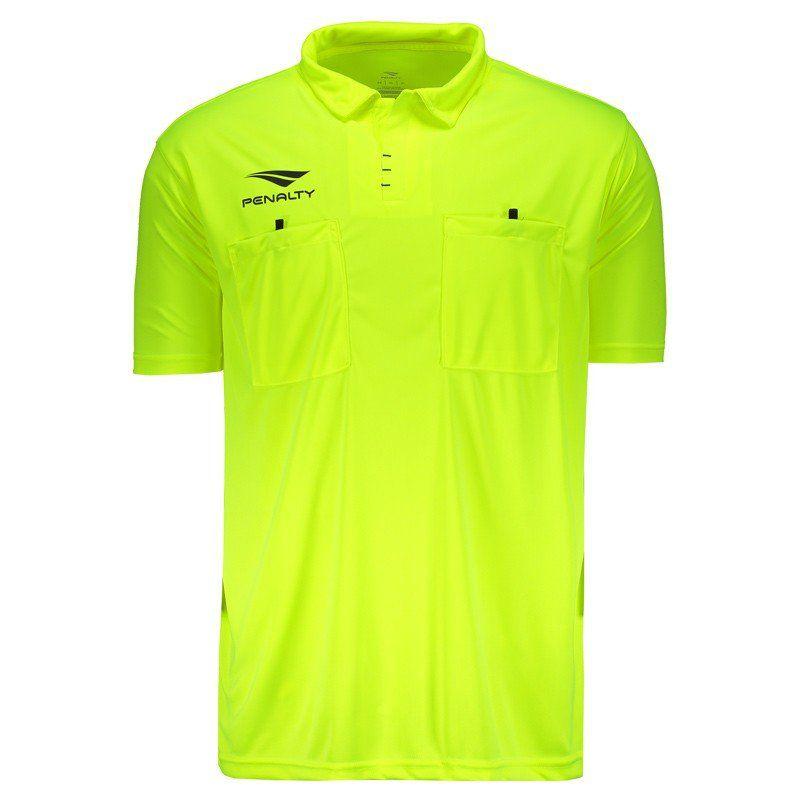 Kit Camisa + Bermuda + Cartão de Árbitro de Futebol Penalty
