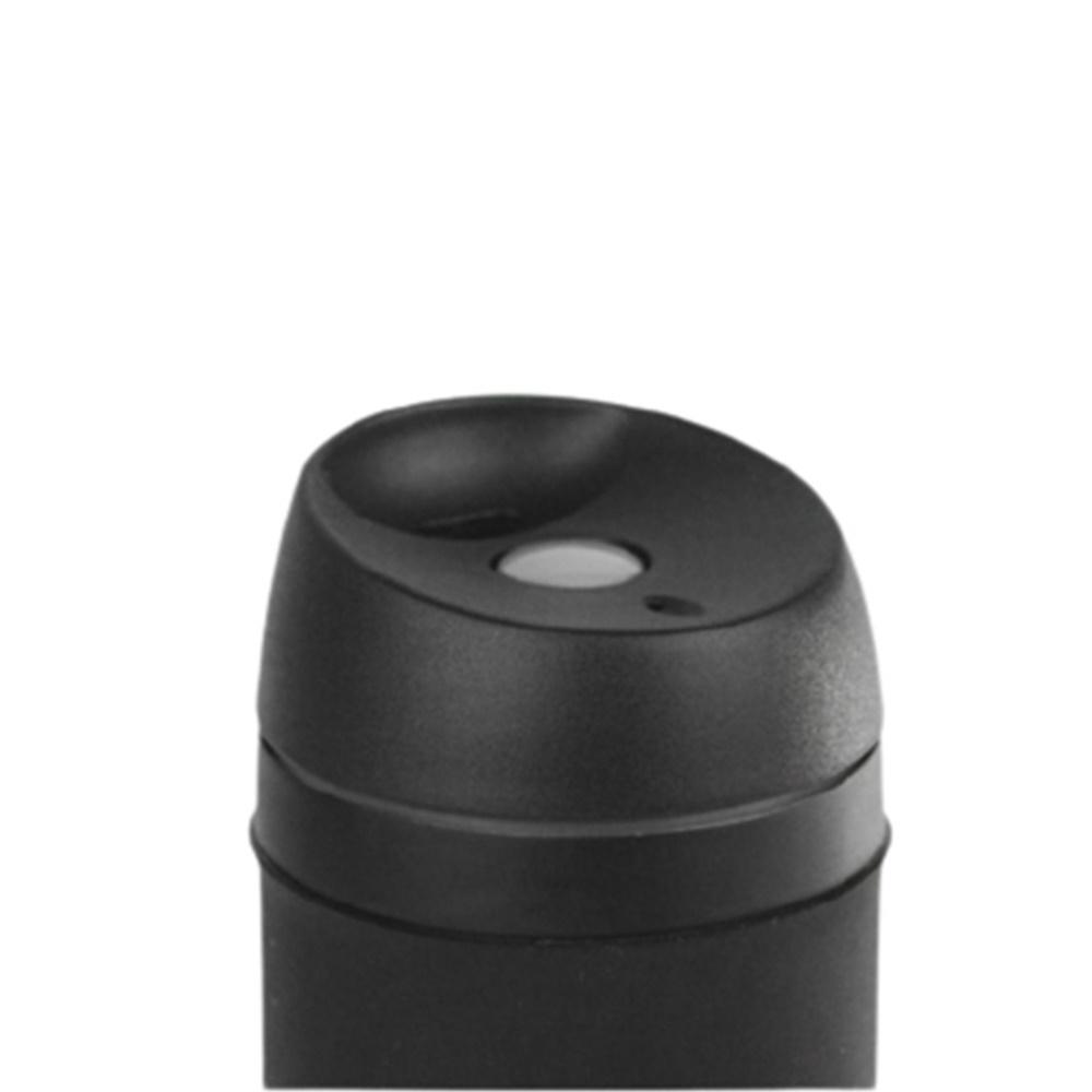 Kit com 2 Copos Térmico Mokha Rub Hermético 450ml Aço Inox Preto e Rose