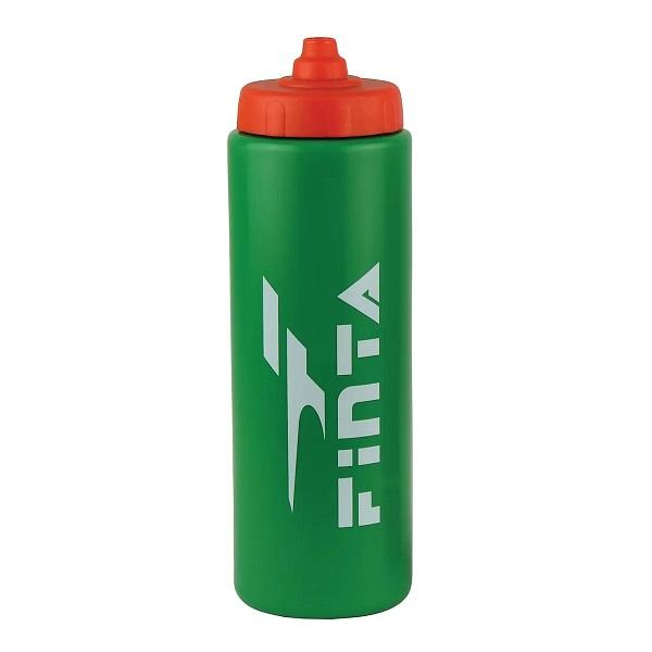 Kit com 6 Squeeze Garrafa Tampa Automática 1L Finta Verde